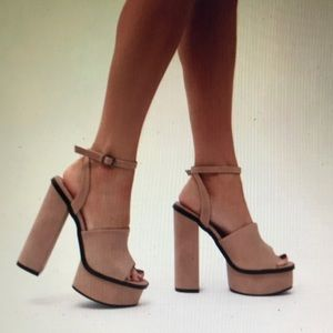 Public desire platform heels